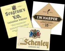 seagram harper schenley montage